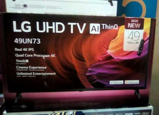 "Brand new LG 49"" inch smart~model Un7340pvb ~4k Uhd image 1"