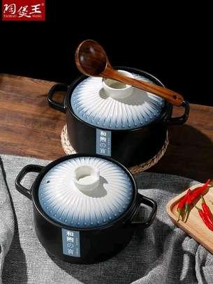 Japanese creative ceramic casserole image 2