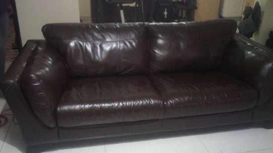 Leather Sofa Dye and Seat Repair image 9