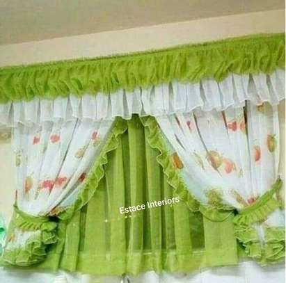 Elegant kitchen curtains image 6