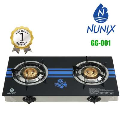 Nunix Tampered Glass Gas Table Cooker image 2