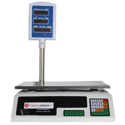 Scale Food Price Digital Computing Produce Meat Deli Weight Counting 60LB ACS-30 image 2