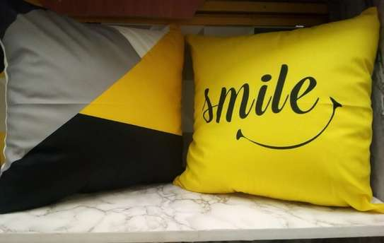 throw pillows smile covers image 1