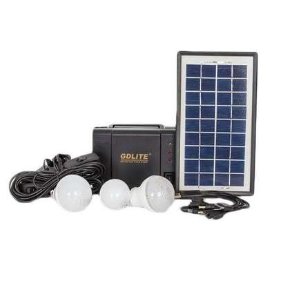Gdlite 8006A Solar Lighting And Charging Kit image 1