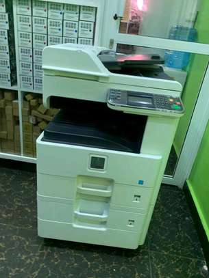 Effecient kyocera ecosys fs6525 photocopier machine image 1
