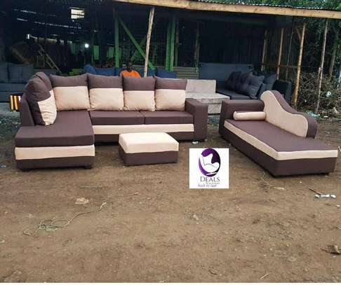 Six Seater Corner Seat + Sofabed/ Two Seater image 1