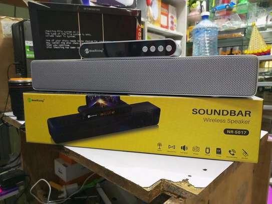 Wireless Bluetooth sound bar image 1