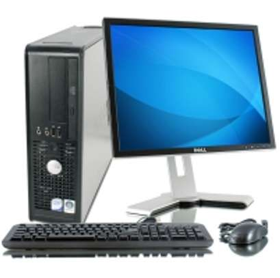 Dell Optiplex 760 Desktop PC with 17 Inch TFT Screen image 1