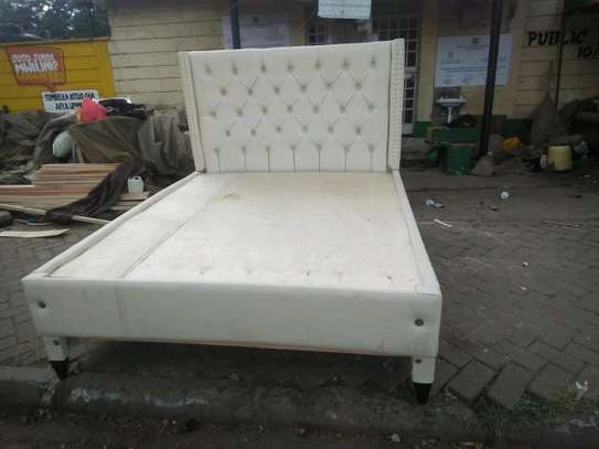 Beautiful Modern Quality Ready Made 5by6 Tufted Bed image 2