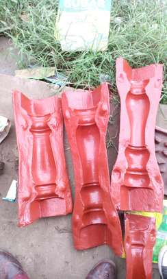 Barlustrade moulds