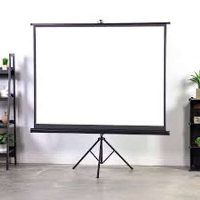 Tripod/portable 70' x 70' Projection Screen