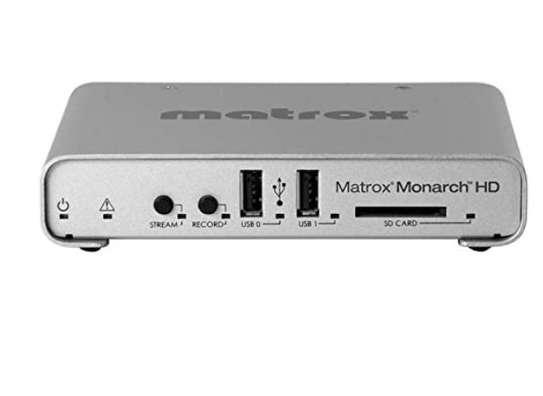 Matrox Monarch HD Simultaneous Live Streaming & Recording image 1