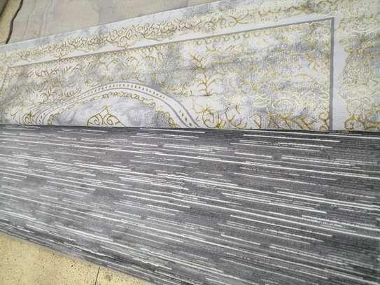 Persian carpet 7 by 10 grey image 1