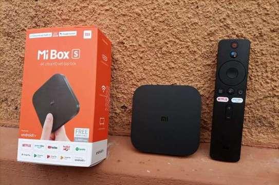 Mi Box S: 4K Ultra HD Streaming Media Player image 1