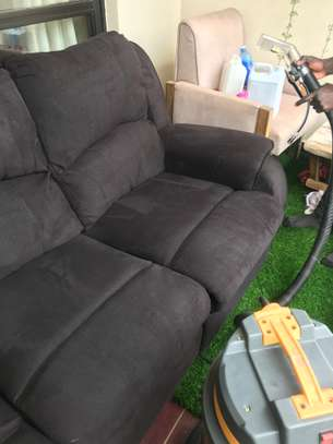 Sofa cleaning - Recliner cleaning, L shaped cleaning and sofa beds image 3