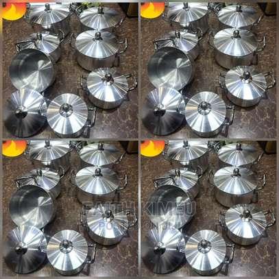 14 Pieces Aluminum Cookware image 1