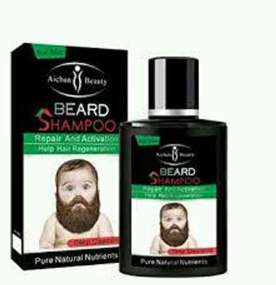 Aichun beard growth oil plus shampoo image 4