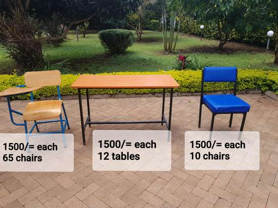 School chairs and Tables Clearance Sale