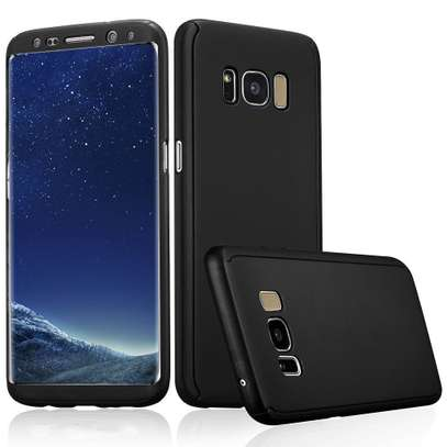 360 Full Protection Cover Case for Samsung s8+/s8/S9+/S9 Note 9 Note 8 Black image 2