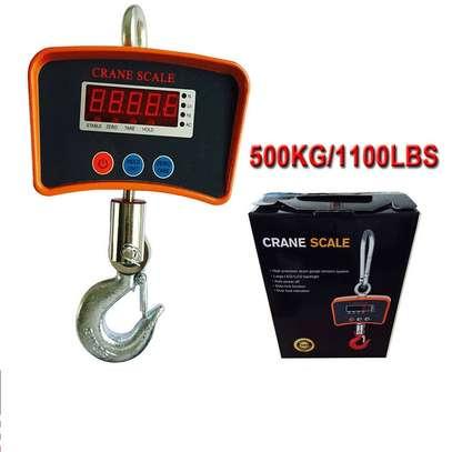 500 KG / 1100 LBS Digital Crane Scale Heavy Duty Industrial Hanging Scale