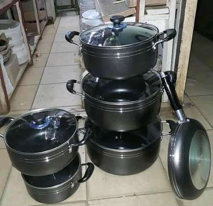 11pcs aluminium cookware sets