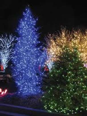 , Christmas tree, holiday, shopping mall, patio decoration! image 1