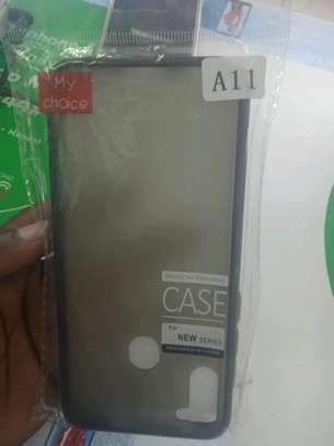 Samsung A11 Back Cover(My Choice) Hard Back Covers in shop image 1