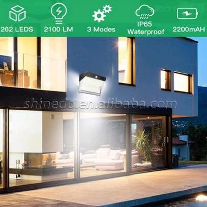 262 LED Solar Motion Sensor Lights Outdoor image 7