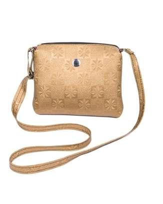 Ladies sling bag(Gold) image 1