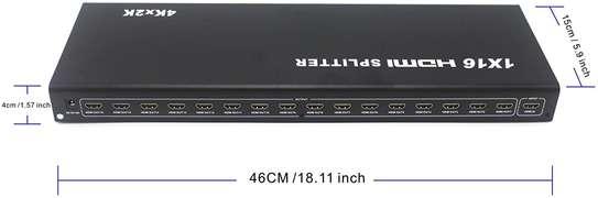 Powered 16-Way Ultra HD 4K HDMI Splitter image 1