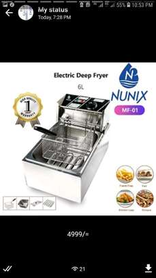 Nunix 6 Litre Electric Multipurpose Deep Fryer image 1
