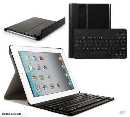 """Smart Wireless Bluetooth Keyboard with Stand Case Cover For Apple iPad Pro 12.9"""" image 1"""