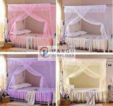 Strong Four poles canopy mosquito nets image 2