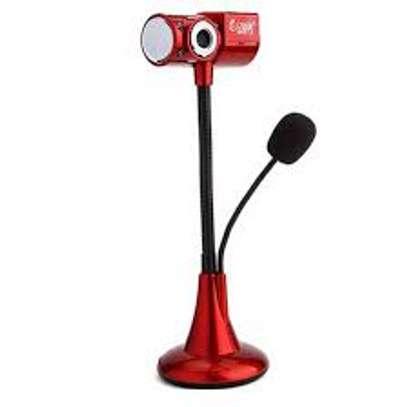 New Brand Webcam HD USB 2.0 Cameras Desktop PC Camera image 1