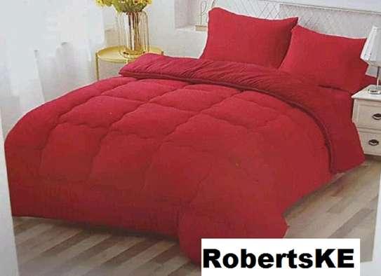 woolen duvets red image 1