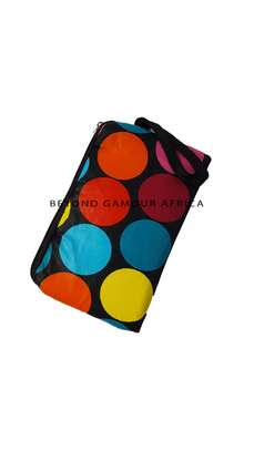 Multi colored dots Make Up Accessories Pouch image 1