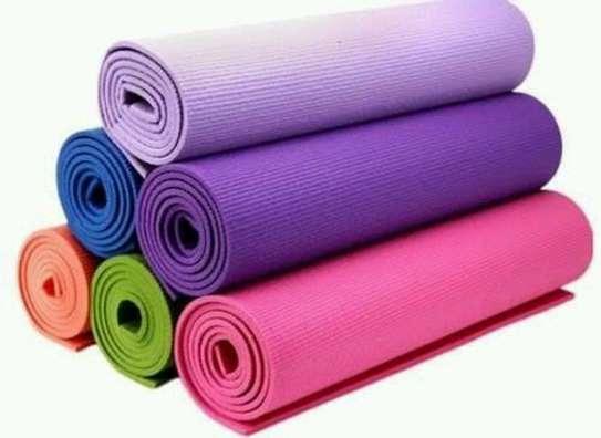 Yoga exercise mat image 1
