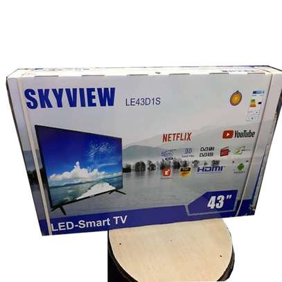43 Inch Skyview Smart Digital LED TV Television image 1