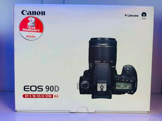 Canon 90D with 18-55mm lens image 2
