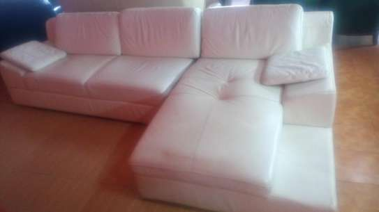 Genuine ex uk leather sofas