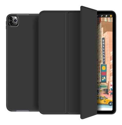 Smart Silicone Foldable Case For iPad Pro 11 2020/iPad Pro 12.9 2020[No iPencil Holder] image 1
