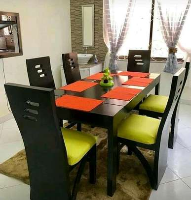 6-seater dining table image 1