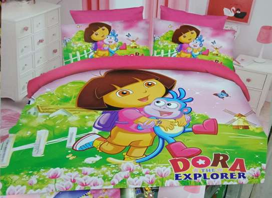 Cartoon theme kids duvet image 2