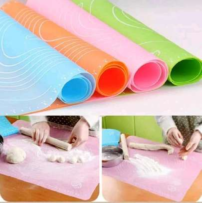 Silicone baking rolling mat/non stick silicone mat image 2