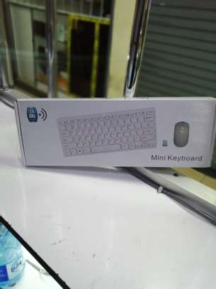 wireless keyboard with mouse image 1
