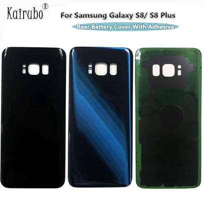 Battery Cover Replacement Back Door Housing Case For Samsung Galaxy S8 S8 Plus image 3