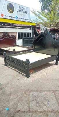 5 by 6 Hardwood Bed image 3