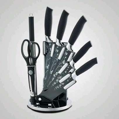 8pcs knife kitchen set and stand