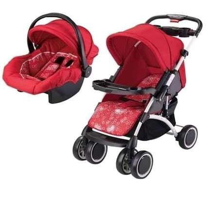 Stroller Set; Stroller & Carry Cot image 2