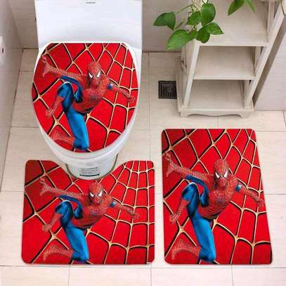 Cartoon themed bathroom mat sets image 2